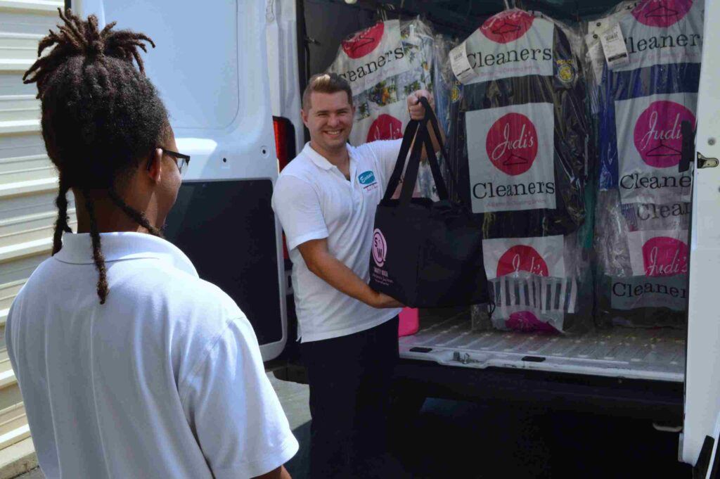 judis cleaners laundry employees in folsom